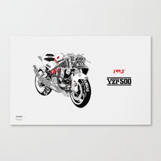YZR500 Canvas Print
