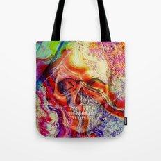 marble skull Tote Bag
