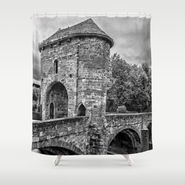 The Gateway To Monmouth Shower Curtain