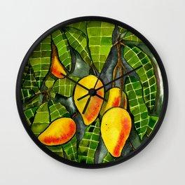 The Mango Tree Wall Clock