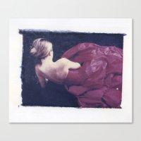 baloon Canvas Prints featuring Baloon Girl by Jenn