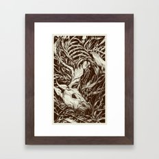 doe-eyed Framed Art Print
