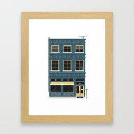 Market St. Framed Art Print