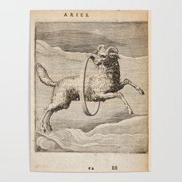 Hugo de Groot's Syntagma Arateorum 1600 - 43 Aries Poster