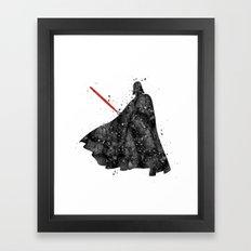 Darth Vader Star . Wars Framed Art Print