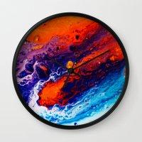 return Wall Clocks featuring Return by Kimsey Price
