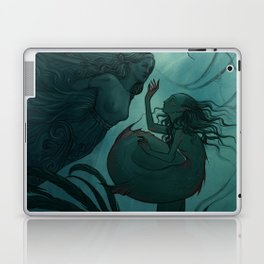 The day a mermaid found a shipwreck Laptop & iPad Skin