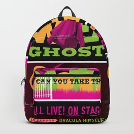 Spook Show Tribute Poster 02 Backpack