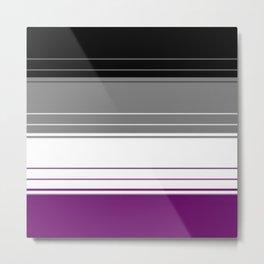 Asexual lines (Big) Metal Print