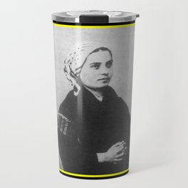 Billard Perrin - Portrait of Bernadette Soubirous Travel Mug