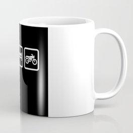 Eat Sleep Motorcycling - Biker Design Coffee Mug