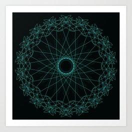 Geometric Freedom Art Print