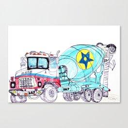 Star Cement, Inc. Canvas Print