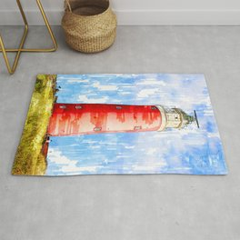 Lighthouse In The Netherlands - For Lighthouse Lovers Rug
