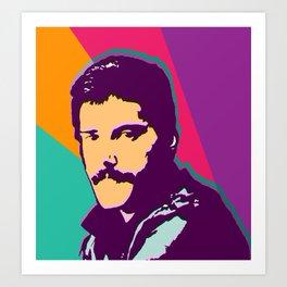 Queen - Freddie M Art Print
