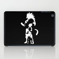 goku iPad Cases featuring Goku Transformations by Prince Of Darkness