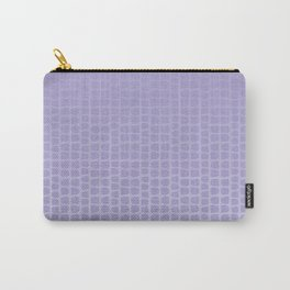 Lilac ombre effect on abstract pattern. Carry-All Pouch