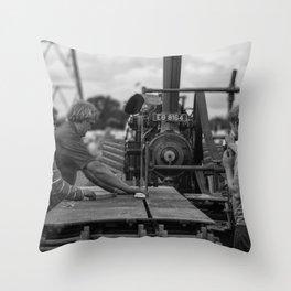 Stenner Bench Throw Pillow