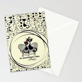 Paris  - The Aristocats Stationery Cards