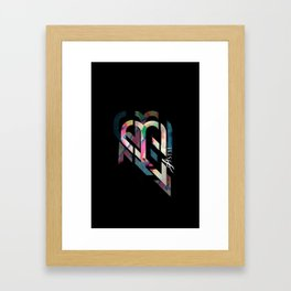 Abstract backing/ ASTYL Framed Art Print