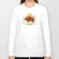 taurus Long Sleeve T-shirts featuring Taurus by Giuseppe Lentini