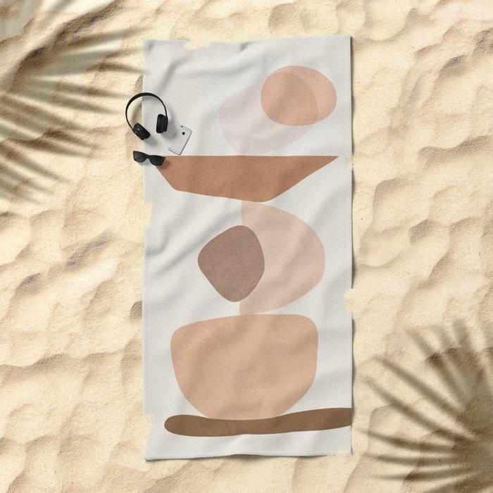 Balancing Elements II Beach Towel