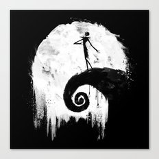 All Hallow's Eve Canvas Print
