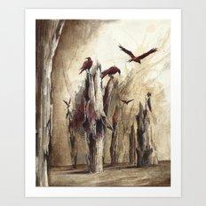 kuzgun Art Print