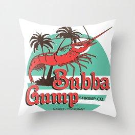 Bubba Gump Shrimp Company Throw Pillow