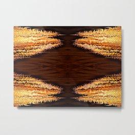 Lava geometry II Metal Print