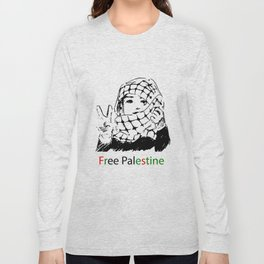 Freedom for Palestine Long Sleeve T-shirt