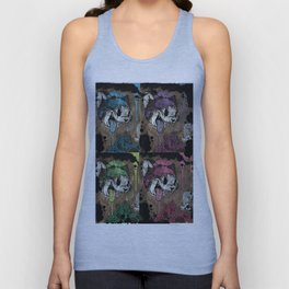 THE CARTOON CAT 4X REDUX Unisex Tank Top