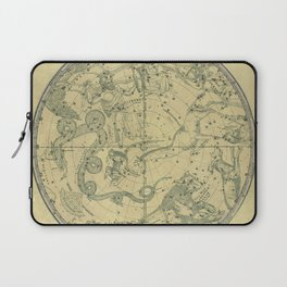 Atlas, Designed to Illustrate the Geography of the Heavens, plate 6 (1850) Laptop Sleeve