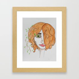 This is an in the now kind of sentiment Framed Art Print