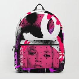 Kate Moss Logo Overdose Supreme Monstera Tropical Backpack