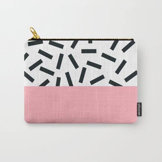 Memphis pattern 20 Carry-All Pouch