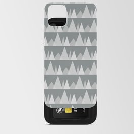 Scandinavian Trees | gray iPhone Card Case
