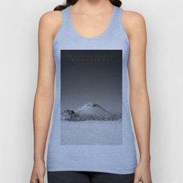 Being Alone Unisex Tank Top