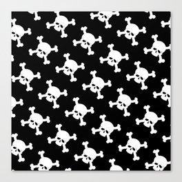 Skull Crossbones Symbol Canvas Print