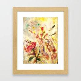 Sensual flower 4 Framed Art Print