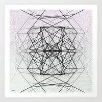 code Art Prints featuring Code by Dood_L
