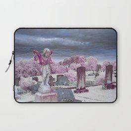 Stormy Cemetery Laptop Sleeve