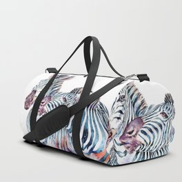 Punda Milia - African Zebras Duffle Bag