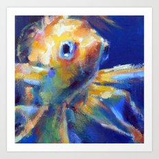 The Goldfish Art Print