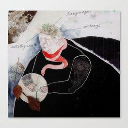 The Tree & Mind Canvas Print