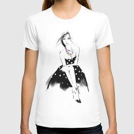Polka Dot Dress T-shirt
