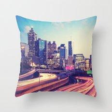 Atlanta Downtown Throw Pillow