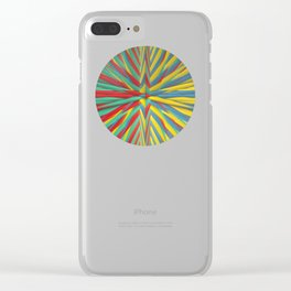 Spiked Perspective Clear iPhone Case