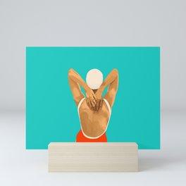 Scratch My Back Mini Art Print