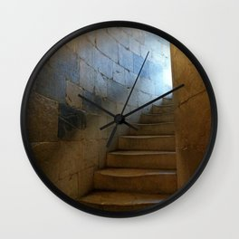 Stairs Wall Clock